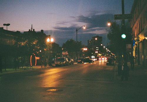 city street at night tumblr - photo #20