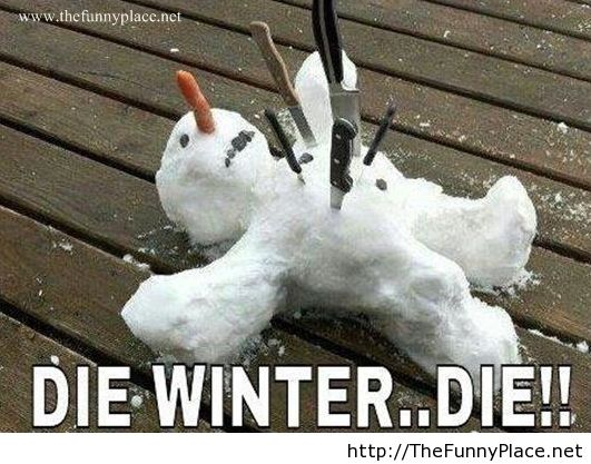 We hate winter - Funny Pictures, Awesome Pictures, - image ...