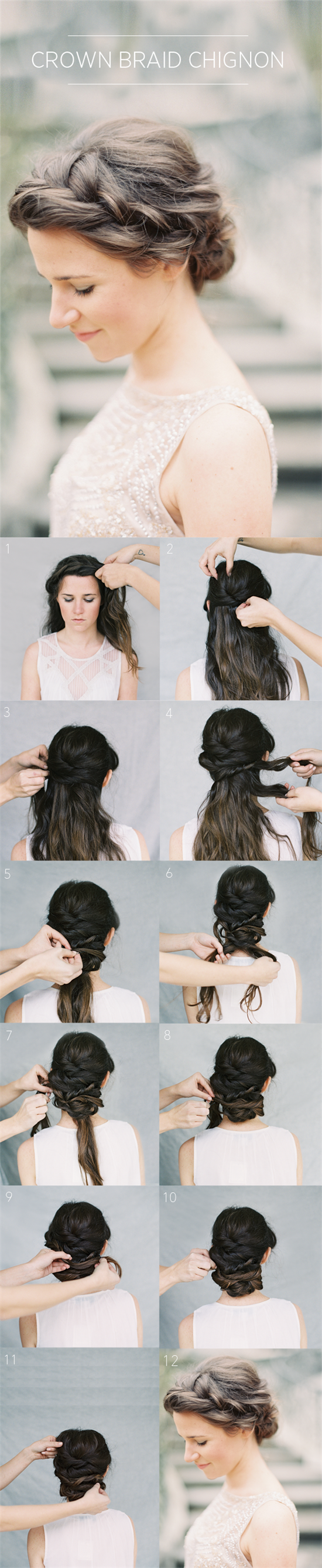 Three Elegant Updo Hairstyles with Clip in Extensions - image #1000757 ...