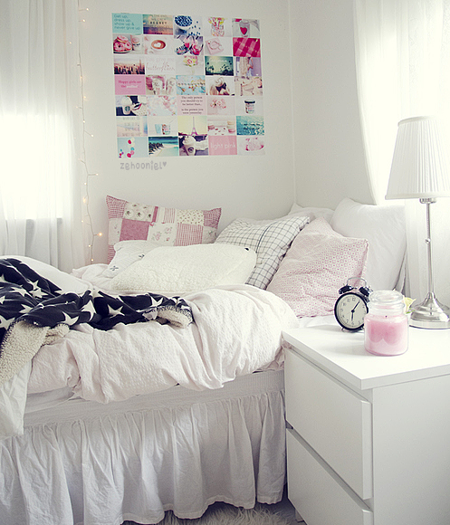 Cute room via tumblr image 1004176 by awesomeguy on for Cute girly rooms
