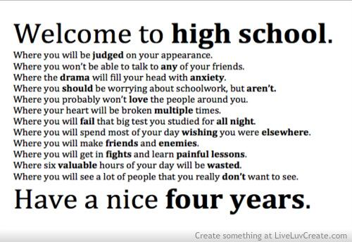 high school, incredible, life, quotes, sad but true, stay strong ...