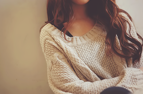 autumn, fall, curly, fashion, girly, hair, style, sweater, girl, shirt, outfit