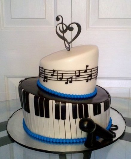 Cake Decoration Music : Cake Decorating Music Cake Ideas and Designs