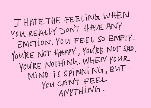 Quotes About Feeling Alone And Empty: I feel so empty on tumblr.