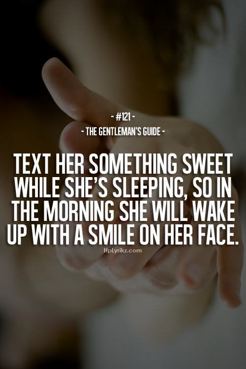 love advice morning after