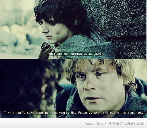 cute, frodo, lo... Lord Of The Rings Quotes Sam