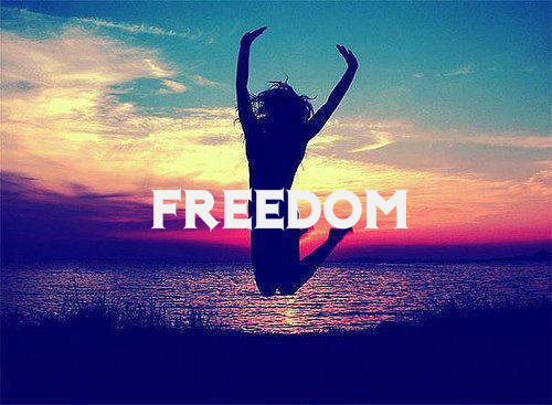 freedom  via Tumblr - image #1017236 by korshun on Favim.com