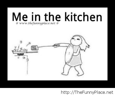 Me cooking in the kitchen - Funny Pictures, - image #1017514 ...