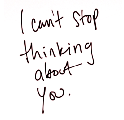 cant stop thinking about a girl im dating To everyone who can't stop thinking about their ex  he's think i was a crazy girl or desperate or  we can't control when we will stop thinking about.