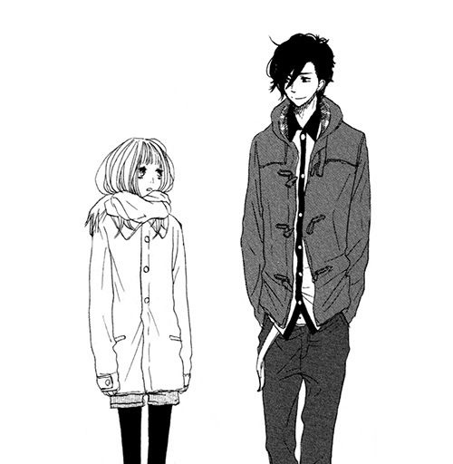 Dating a girl taller than you manga