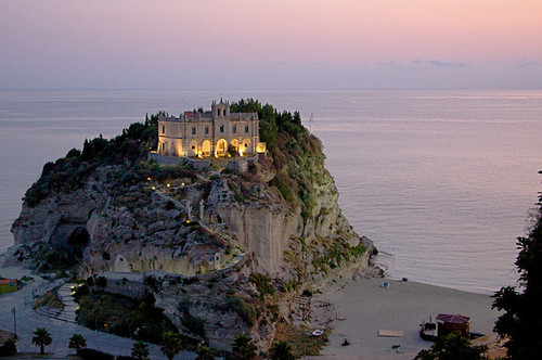 beach, beautiful, calabria, castle, italy, ocean, paradise, sea