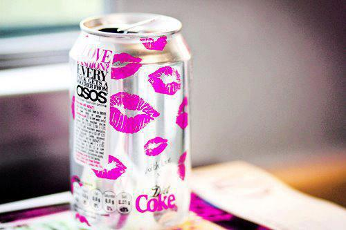 coca cola, cool, coke, delicious, white, lips, pink
