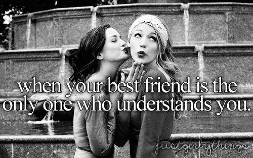 Friend Kiss Quotes : Via facebook image by awesomeguy on favim