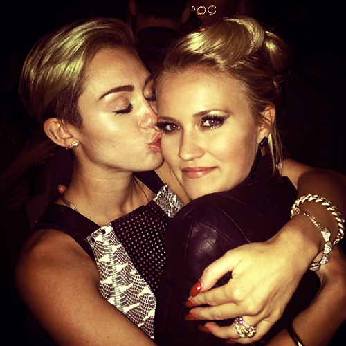 emily osment, miley cyrus and miley&lilly