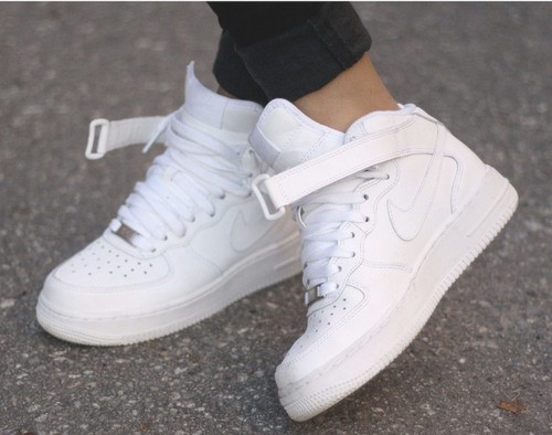 Tumblr Shoes Nike All White Nike Shoes Tumblr