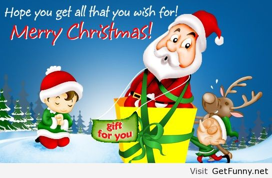 Merry Christmas wish - Funny Pictures, Funny Quotes, - image ...