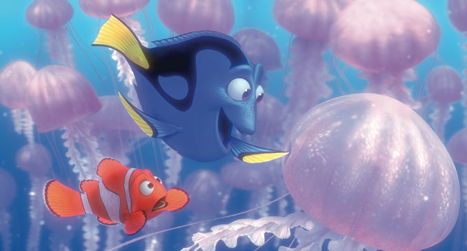 cute, disney, dory and finding nemo