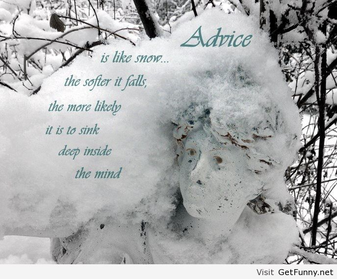 Winter quote with image - Funny Pictures, Funny - image ...