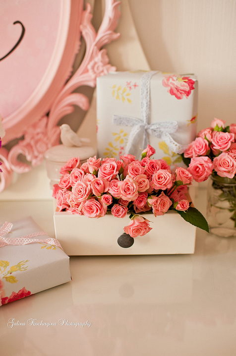 beautiful, flower, pink and rose