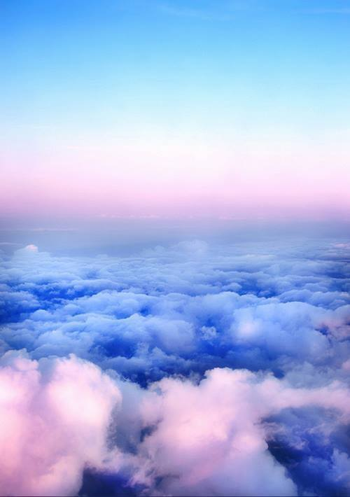Dream, beautiful, paradise, couds, nature, sky, pink, daydream, fly