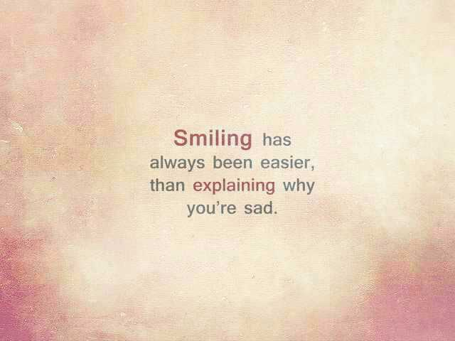 quotes sad smile image by rayman on com