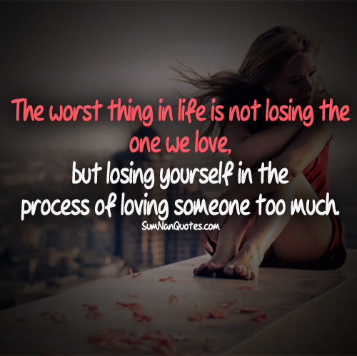 Sad Quotes About Losing Someone: Image #1084583 By SumNanQuotes On Favim.com
