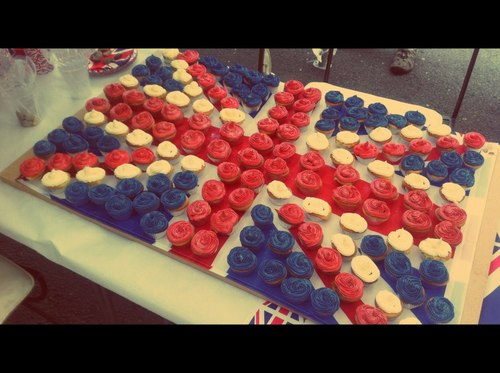 britain, cupcakes, england, flag, food, muffins, union jack, yummi, ♥