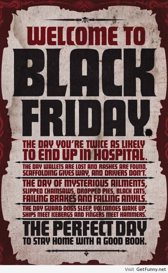 Black friday hidden quote - Funny Pictures, Funny - image ...