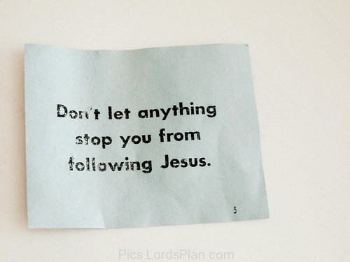 Following Jesus Christ Quotes