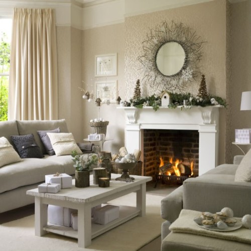 30 ideal home shows examples at christmas image for Show home decor