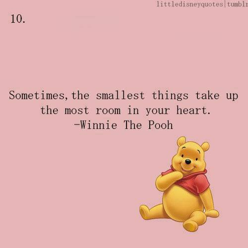 Winnie The Pooh Quotes Sometimes The Smallest Things: Image #1104987 By Nastty On Favim.com