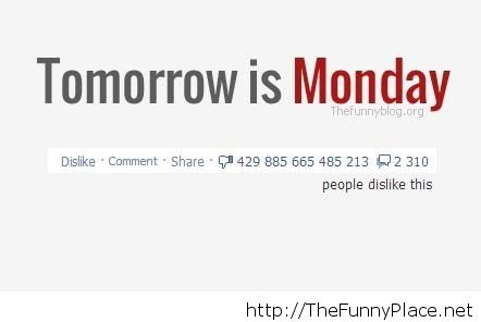 Tomorrow Is Monday Again   Funny Pictures, Awesome   Image .