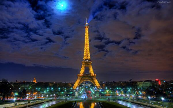 paris, night, Noche, beautiful, france, eiffel tower, francia, Dream