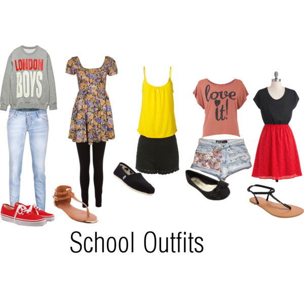 how to make cute outfits for school