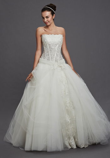 Wedding Dresses Kleinfeld Atlanta : Beautiful dress long wedding