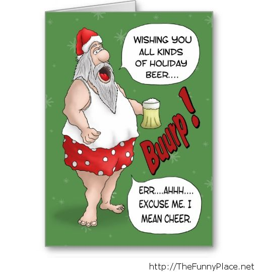 Funny christmas wishing santa claus - Funny Pictures, - image #1135886 by the...