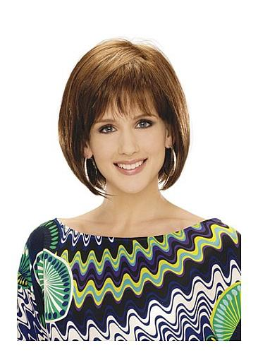 Short Wig,Straight Wig,Hand Tied Wig,Full Lace 100% Human Hair Wig