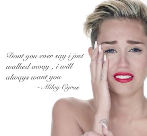 Miley Cyrus Crying Wrecking Ball Quotes. QuotesGram