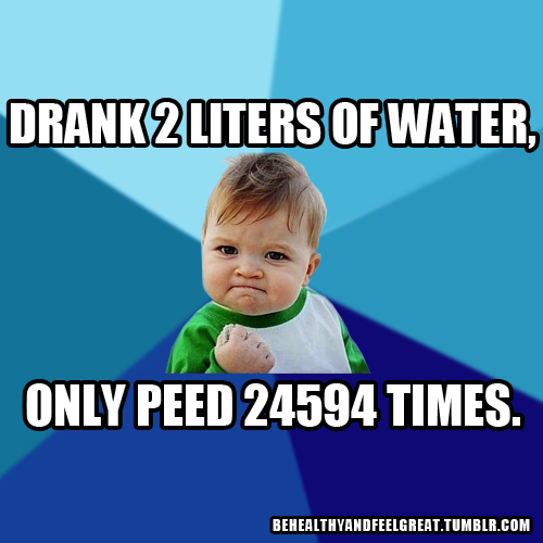Funny Memes About Drinking Water : Clean drinking water quotes like success