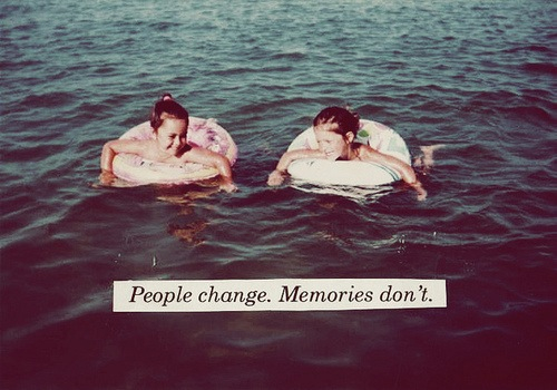 change, children, friends, future, kids, memories, moments, ocean, past, people, present, quote, relationships, water