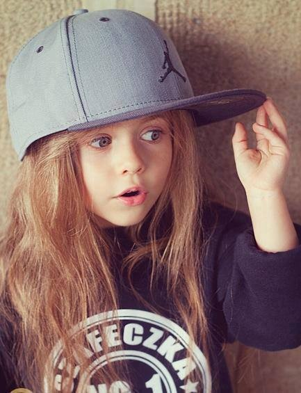 style, swag, girl, baby, hat, adorable, hair, cute