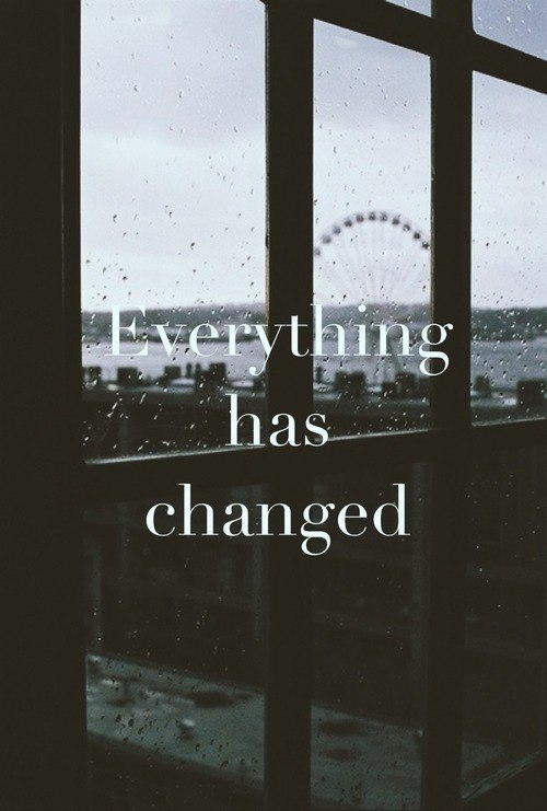 Everything Has Changed Quotes | Quote Addicts