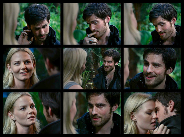 captain hook, chemistry, colin o'donoghue and couple