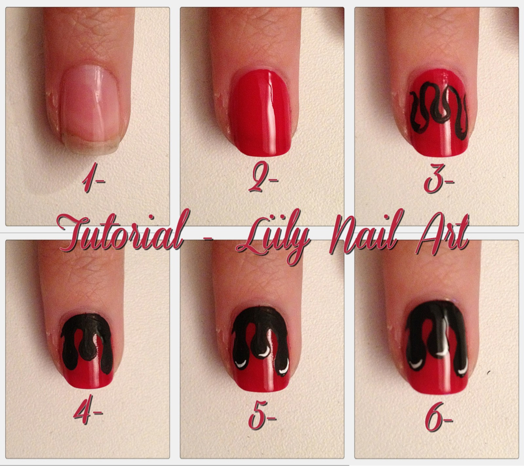 tutorial, tuto nails, nail art facile