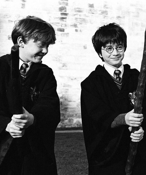 daniel radcliffe, harry potter, ron weasly and rupert grint