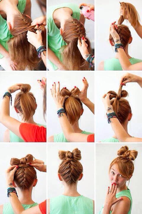 Upside Down French Braid - image #1180005 by awesomeguy on Favim.com
