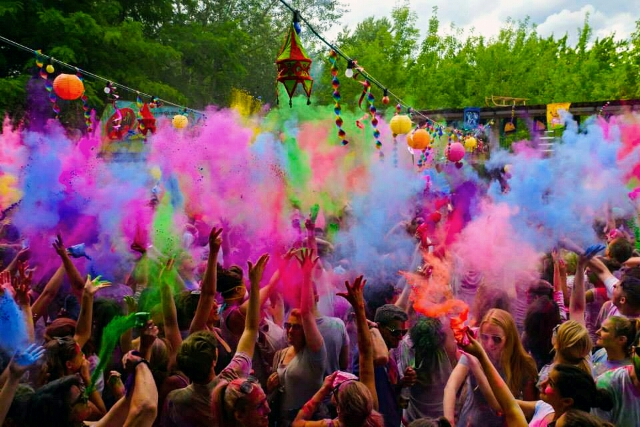 colour, colourful, party and summer