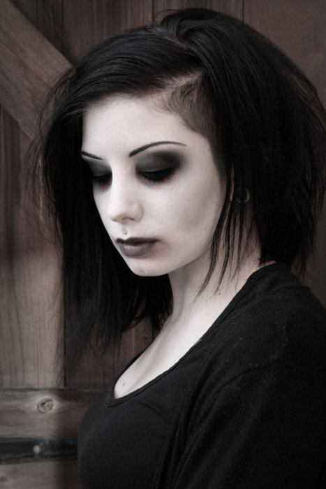 fashion, girl, gothic and grunge