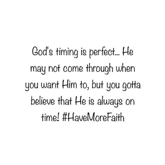 be patient, christian, faith and god