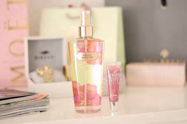 cute, perfume, pink, pretty, tumblr, victoria's secret, i do not own ...